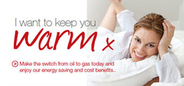 keep warm with Manx Gas